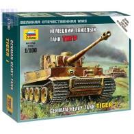 Сборная модель немецкий танк Тигр