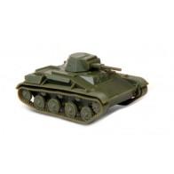 Сборная модель советский  легкий танк Т-60