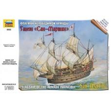 Збірна модель Іспанська корабель Сан-Мартін