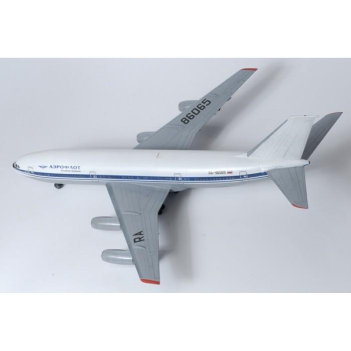 """Збірна модель для склеювання пасажирський авіалайнер """"Іл-86"""""""