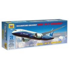 """Сборная модель для склеивания пассажирский авиалайнер """"Боинг 787-8"""" Дримлайнер"""