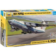 """Сборная модель для склеивания самолёт """"ИЛ-76"""""""