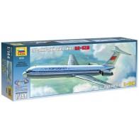 Сборная модель для склеивания пассажирский авиалайнер Ил-62М