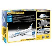 """Сборная модель для склеивания пассажирский авиалайнер """"Боинг 737-800"""""""