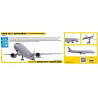 """Сборная модель для склеивания самолёт """"Боинг 787-9"""""""
