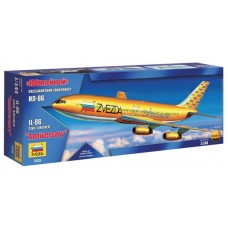 """Збірна модель для склеювання пасажирський авіалайнер """"Іл-86"""" Ювілейний"""