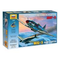 """Сборная модель для склеивания самолет """"МиГ-3"""""""
