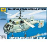 Збірна модель для склеювання російський протичовновий вертоліт