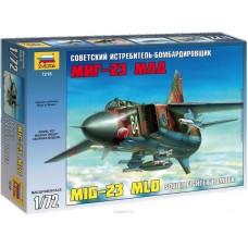 """Сборная модель для склеивания самолет """"МиГ-23 МЛД"""""""