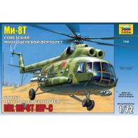 Збірна модель для склеювання вертоліт Ми-8T