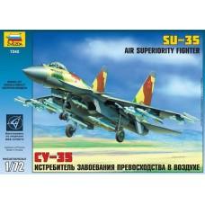 """Сборная модель для склеивания самолет """"Су-35"""""""