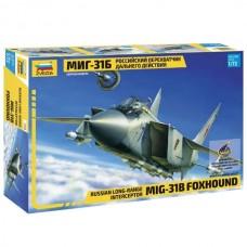 """Збірна модель для склеювання літак """"МіГ-31Б"""""""