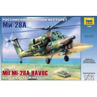 Збірна модель для склеювання вертоліт Мі-28