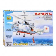 Збірна модель для склеювання корабельний пошуково-рятувальний вертоліт