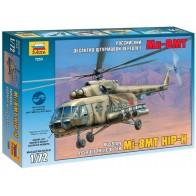Збірна модель для склеювання вертоліт Мі-8MT