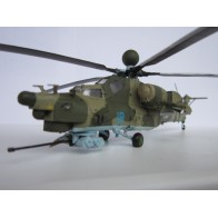 Збірна модель для склеювання вертоліт Мі-28Н
