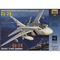 """Сборная модель для склеивания самолет """"Су-24"""""""