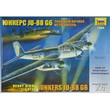 """Сборная модель для склеивания самолет """"JU-88G6"""""""