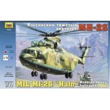 Збірна модель для склеювання вертоліт Мі-26