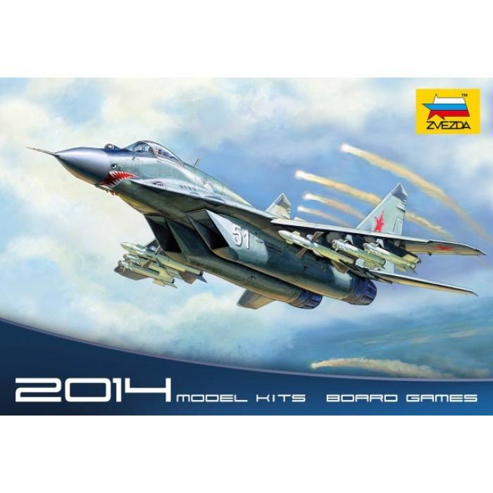 """Сборная модель для склеивания самолет """"МиГ-29С"""" (9-13С)"""