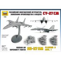 """Сборная модель для склеивания самолет """"Су-27СM"""""""