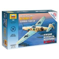 Збірна модель німецький винищувач Мессер BF-109F-2