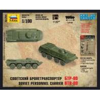 Збірна модель радянський бронетранспортер БТР-80
