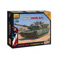 Сборная модель американский осн. боевой танк Абрамс М1А1