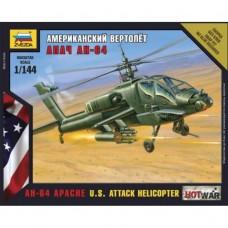 Сборная модель американский вертолет Апач