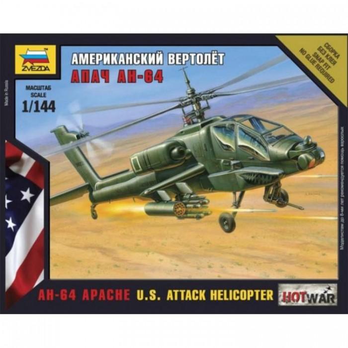 Збірна модель американський вертоліт Апач