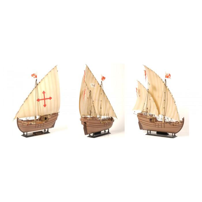 """Збірна модель для склеювання корабель Хр. Колумба """"Нінья"""""""
