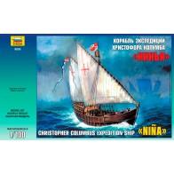"""Сборная модель для склеивания корабль Хр. Колумба """"Нинья"""""""