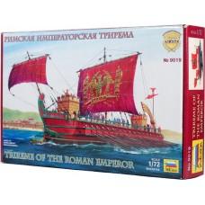 Збірна модель для склеювання римська імператорська трирема