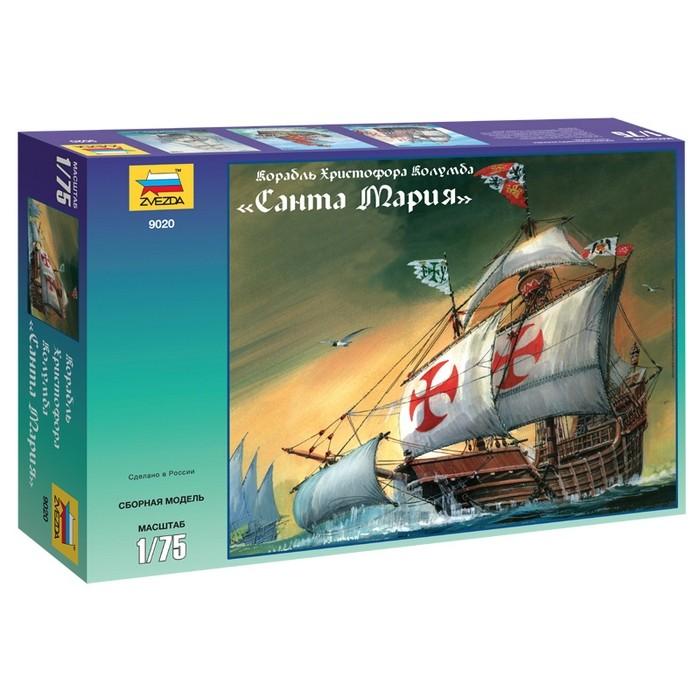 """Збірна модель для склеювання корабель """"Санта Марія"""""""