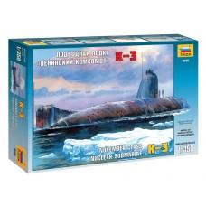 """Збірна модель для склеювання підводний човен """"К-3"""""""