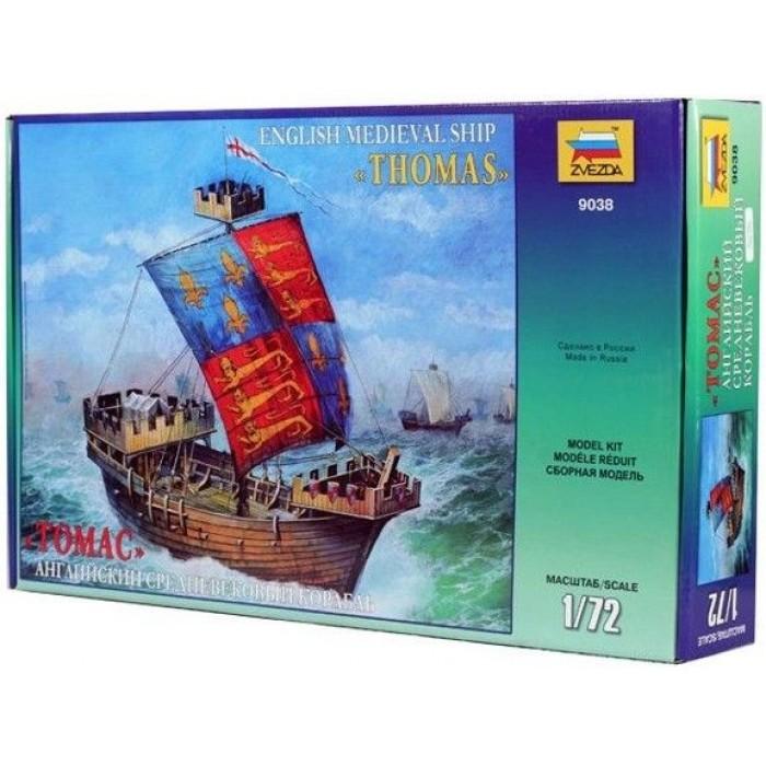 """Сборная модель для склеивания английский корабль """"Томас"""""""