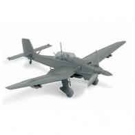 Сборная модель немецкий бомбардировщик Юнкерс JU-87B2