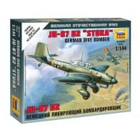 Збірна модель німецький бомбардувальник Ju-87B2