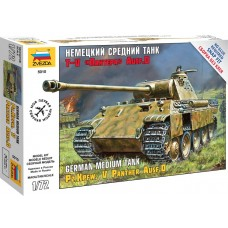 Сборная модель немецкий средний танк T-V Пантера AUSF D