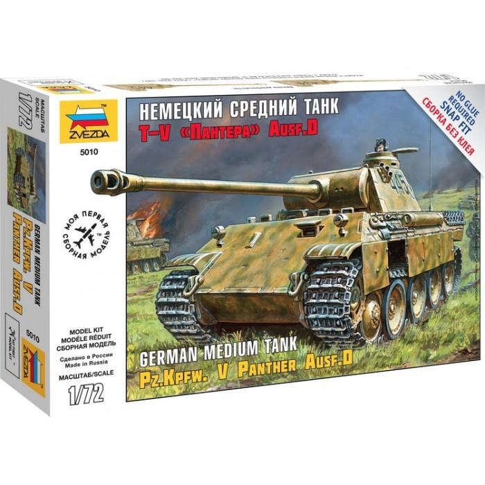 Збірна модель німецький середній танк T-V Пантера AUSF D