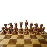 Шахи ручної роботи Лотос (55х55см) NS-SH10