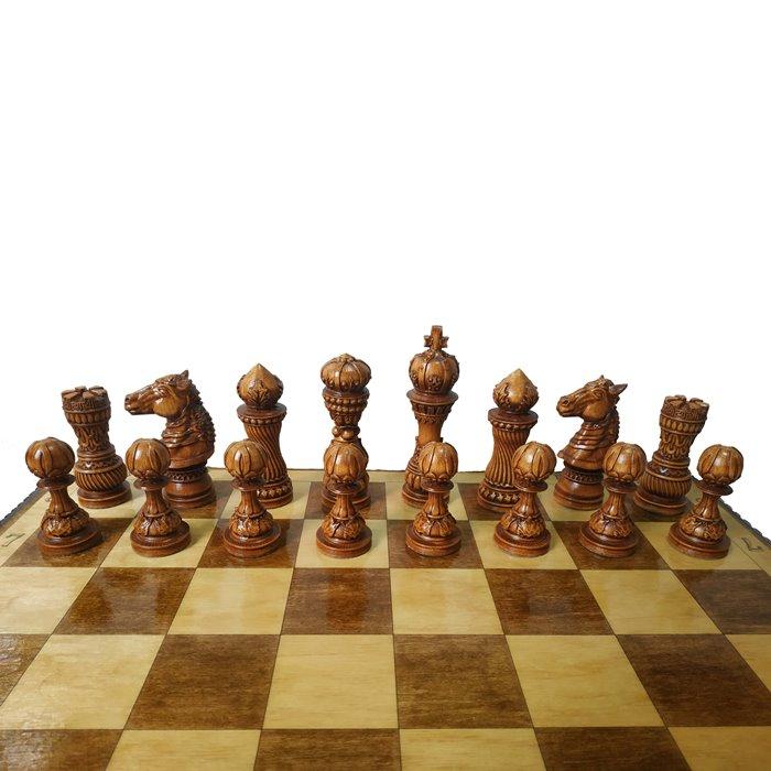 Шахматы ручной роботы Лотос (55х55см) NS-SH10