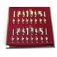 Шахматы эксклюзивные Manopoulos, Греко-римские (44х44см) S11RED