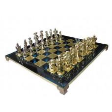 Шахматы эксклюзивные Manopoulos, Мушкетеры (44х44см) S12BLU