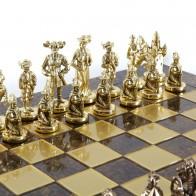 Шахи ексклюзивні Manopoulos, Мушкетери (44х44см) S12CBRO