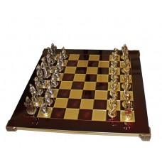 Шахматы эксклюзивные Manopoulos, Мушкетеры (44х44см) S12RED