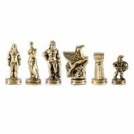 Шахматы эксклюзивные Manopoulos, Спартанский воин (28х28см) S16CBRO