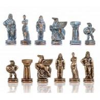 Шахматы эксклюзивные Manopoulos, Спартанский воин (28х28см) S16CMBRO