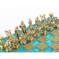 Шахматы эксклюзивные Manopoulos, Спартанский воин (28х28см) S16CMTIR