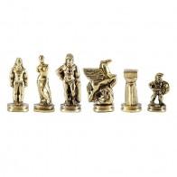 Шахматы эксклюзивные Manopoulos, Спартанский воин (28х28см) S16MBRO